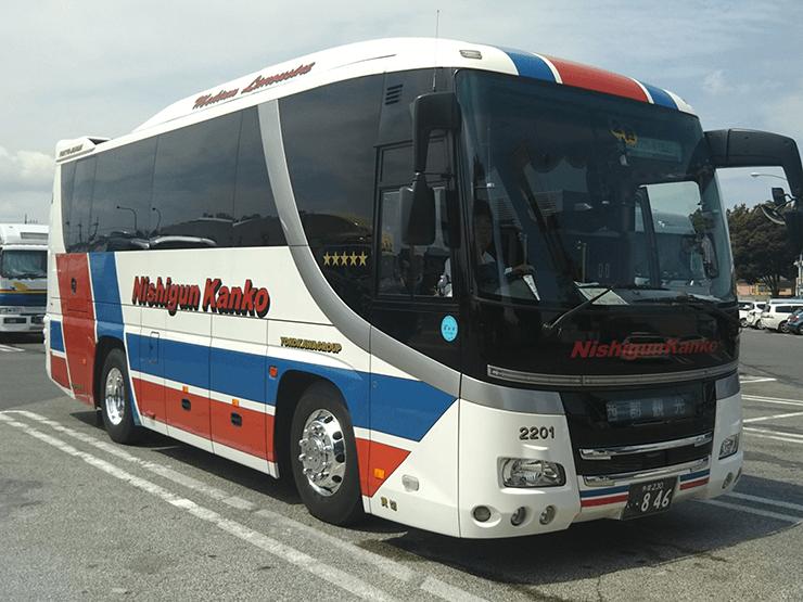 中型観光バス