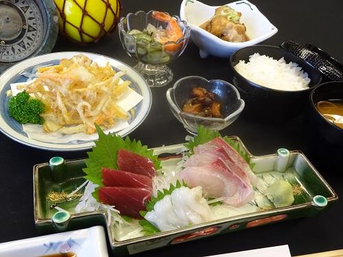 三崎港 海の幸昼食